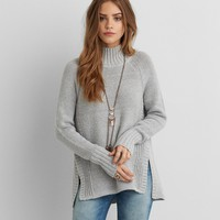 AEO MIXED STITCH SWEATER