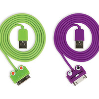 Kikkerland Design Inc   » Products  » iPhone + iPod Frog And Kooky Cable