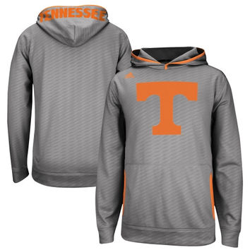 Tennessee Volunteers adidas 2014 Sideline Player Hooded Sweatshirt - Gray