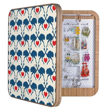 Holli Zollinger Ostrich And Heart BlingBox