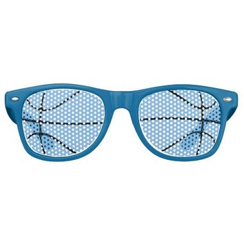 Carolina Blue Basketball Party Wayfarer Sunglasses