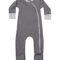 Moon & Natural Organic Footie - Newborn & Infant