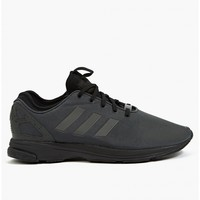 Adidas Originals Men's Triple Black ZX Flux Tech NPS Sneakers