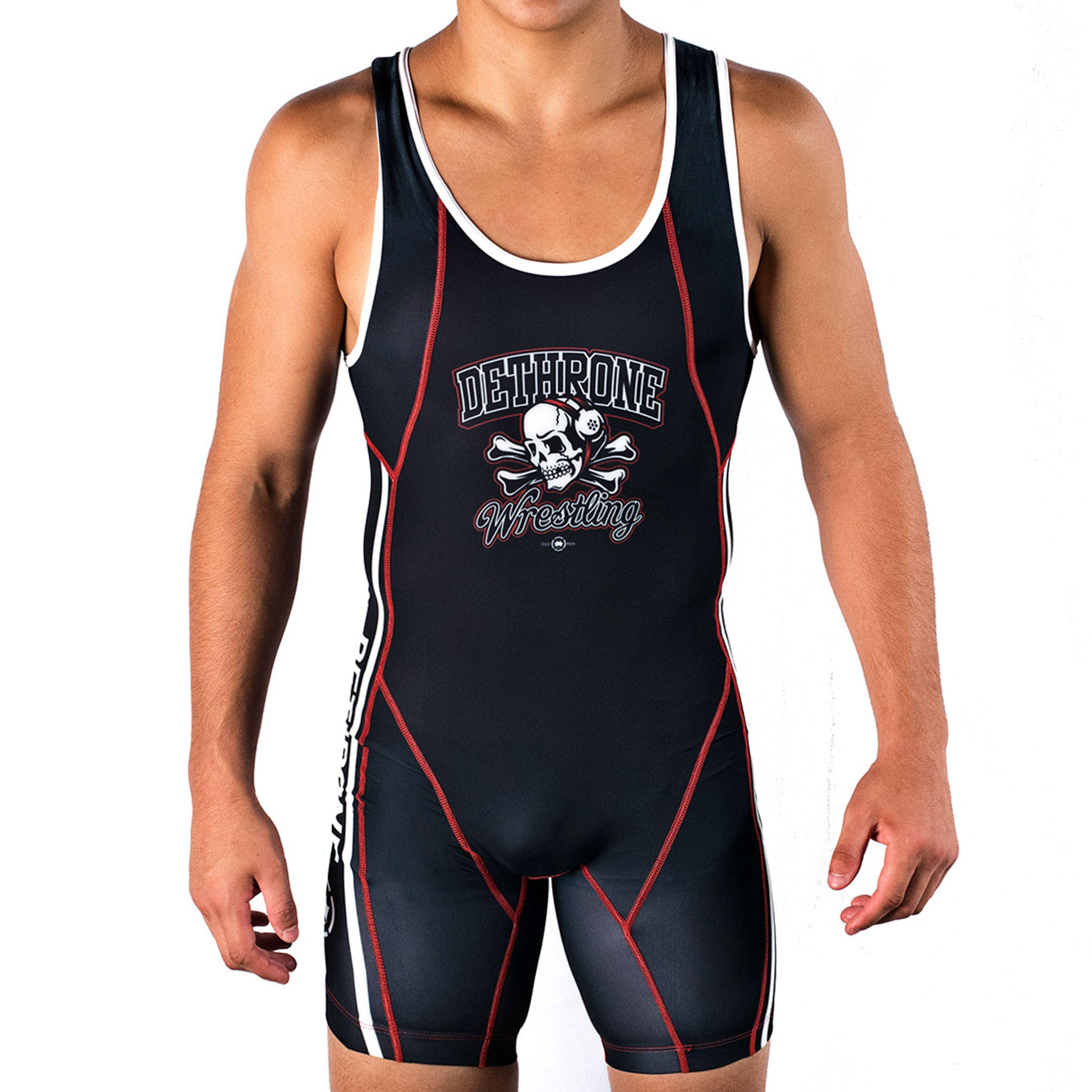 how to put on a wrestling singlet