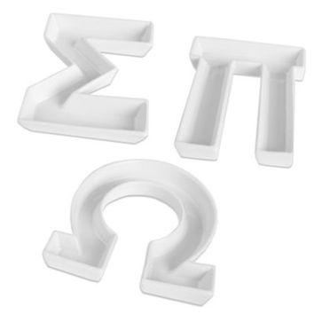 plastic letter candy dishes design letter dish 24012 | x354 q80