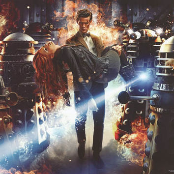 Doctor Who Dalek Dilemma Poster 24x36