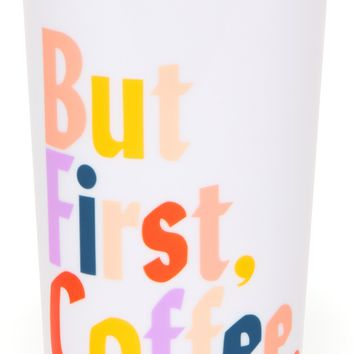 But First, Coffee Hot Stuff Thermal Travel Coffee Mug by Bando