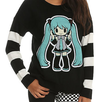 Hatsune Miku Girls Sweater