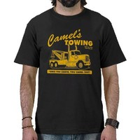 camel's towing company tees from Zazzle.com