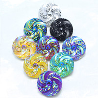 9piece/lot mixed 18mm snaps Alloy Resin Fashion Snaps Buttons Fit ginger snaps jewelry snaps Bracelets GS1110102-MIX