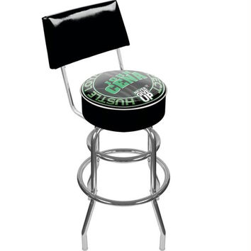 WWE John Cena Padded Bar Stool with Back