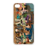 Popular Toy Story Characters in Order iPhone 4/4s Case Hard iPhone Cover Case Protector