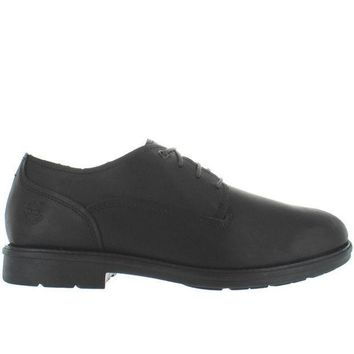 Timberland Earthkeepers Carter Oxford Notch Waterproof Black Leather Oxford