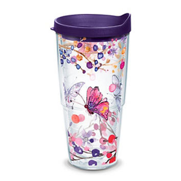 Tervis Watercolor Branch Butterfly Tumbler   null
