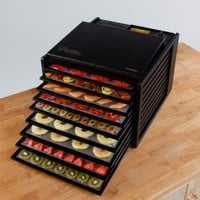 Excalibur 3900 9 Tray Deluxe Heavy Duty Family Size Food Dehydrator | www.hayneedle.com
