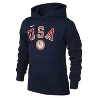 The Nike Fleece Pullover (USOC) Girls' Hoodie.