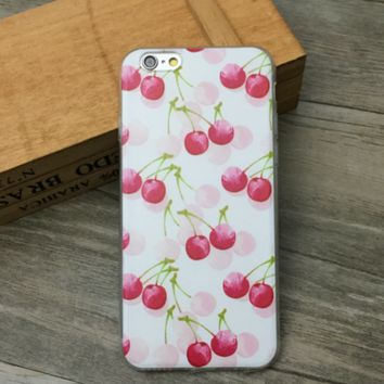 Cherry Fruit Case for iPhone