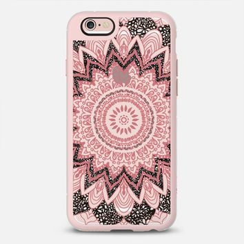 BOHO CHIC PINK MANDALA iPhone 6s case by Nika Martinez | Casetify