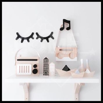 Newest 28 Style Free Shipping Ins wooden Craft Wooden Cross Rabbit Cloud Batman Hook On Wall Decorate In Children's Room