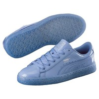 Basket Patent Iced Glitter JR Sneakers, buy it @ www.puma.com