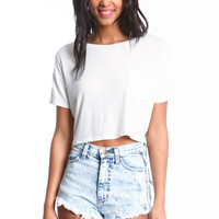 JERSEY BOXY CROP TOP