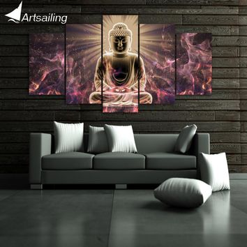 HD Printed Buddha art Painting on canvas room decoration print poster picture canvas Free shipping/ny-6360