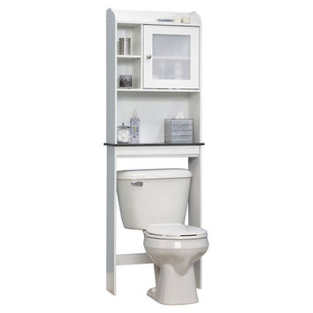 "Sauder Caraway 23.25"" x 68.13"" Over the Toilet Cabinet"
