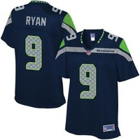 Pro Line Women's Seattle Seahawks Jon Ryan Team Color Jersey