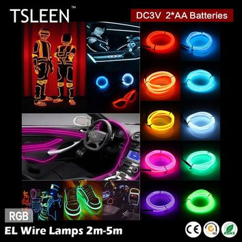 3v Battery Powered Neon LED Dance Party