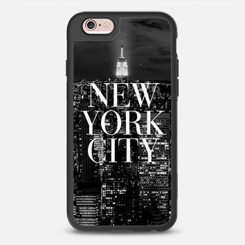 Change Your iPhone Case Every Day | Casetify iPhone Case | New York City Black and White Design by Rex Lambo (iPhone 6,6s,6 Plus,6s Plus,7)