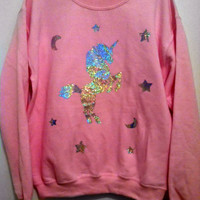 Custom Color Holographic or Foil Unicorn Dreams Sweatshirt