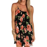 Sale-floral Slip Dress