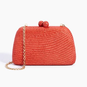 Roxie Bun Clutch - Orange
