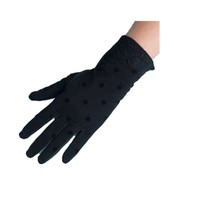 Women's Driving Gloves Dots Sun Uv Protection Outdoor 100% Cotton