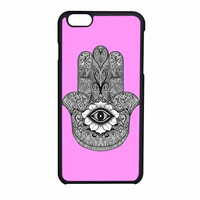 Evil Eye Hamsa Sweet Pink iPhone 6 Case