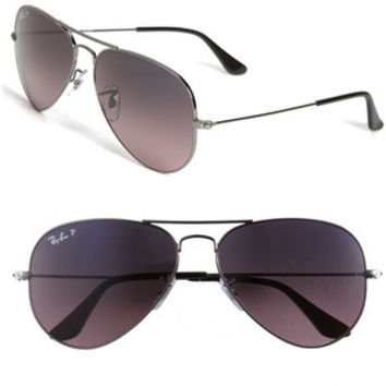 Women's Ray-Ban 'Original Aviator' 58mm Polarized Sunglasses