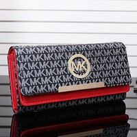 MK Michael Kors New fashion more letter women  wallet Purse