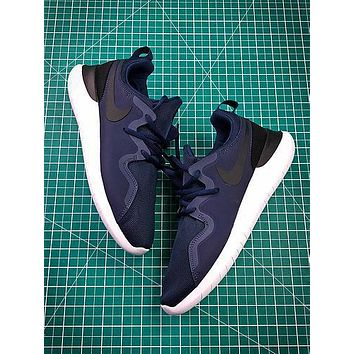 Nike Wmns Tessen Roshe Run 4 Blue Sport Running Shoes