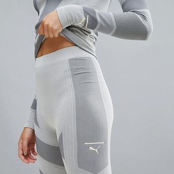 Puma Evoknit Legging In Gray at asos.com