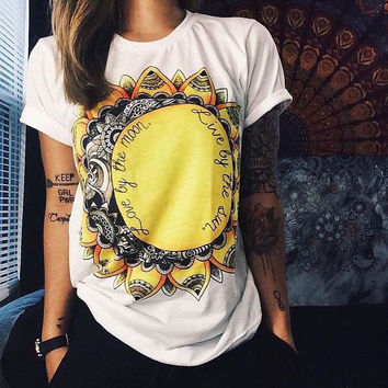 Big Sale on European T shirt Summer Women 2016