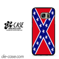 Rubber Confederate Rebel Flag DEAL-9342 Samsung Phonecase Cover For Samsung Galaxy S7 / S7 Edge