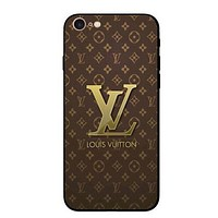 LV Fashion Print iPhone Phone Cover Case For iphone 6 6s 6plus 6s-plus 7 7plus H 8-19