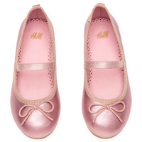 Ballet Flats with Strap - from H&M