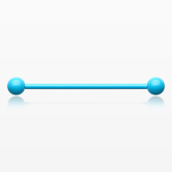 Vibrant PVD Basic Industrial Barbell