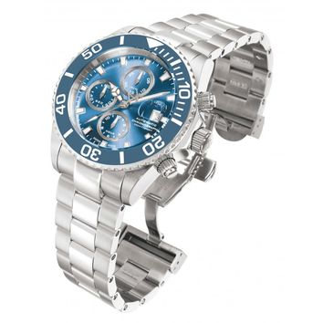 d3026dc3c Invicta 1066 Men's Reserve Pro Diver Blue Dial Chronograph Swiss Automatic  Steel Dive Watch