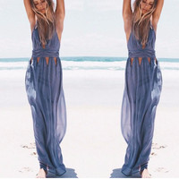 Venus Cut-Out Maxi Dress