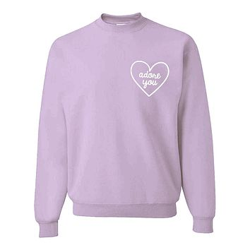 "Harry Styles ""Adore You Heart CORNER"" Crew Neck Sweatshirt"