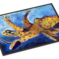 Octopus Indoor or Outdoor Mat 18x27