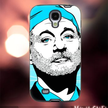 MC2801Z,7,bill murray,ghost buster,painting-Accessories case cellphone-Design for Samsung Galaxy S5 - Black case - Material Soft Rubber