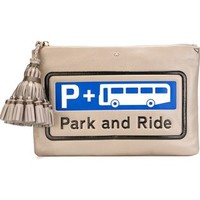 Anya Hindmarch 'park And Ride Georgiana' Clutch - Julian Fashion - Farfetch.com